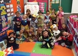 Scary Kindergarten Halloween Party !!